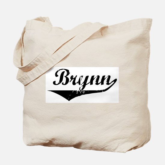 Brynn Vintage (Black) Tote Bag