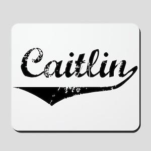 Caitlin Vintage (Black) Mousepad