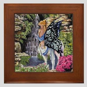 Centaur's Waterfall Framed Tile
