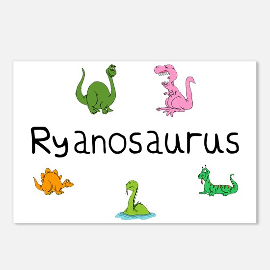 Ryanosaurus  Postcards (Package of 8)