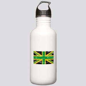 Jamaican British Flag Stainless Water Bottle 1.0L