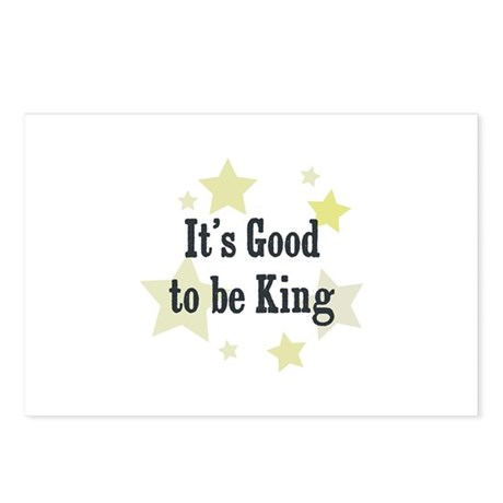 It's Good to be King Postcards (Package of 8)
