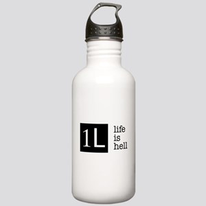1L, life is hell Stainless Water Bottle 1.0L