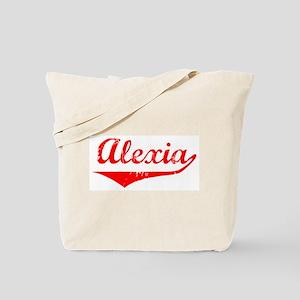 Alexia Vintage (Red) Tote Bag