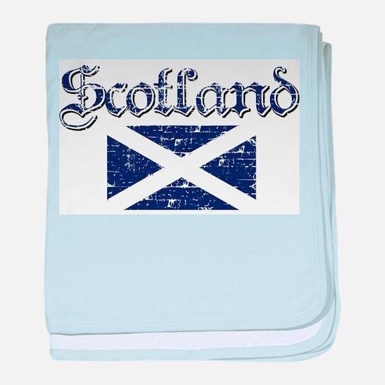 Scotland Flag designs baby blanket