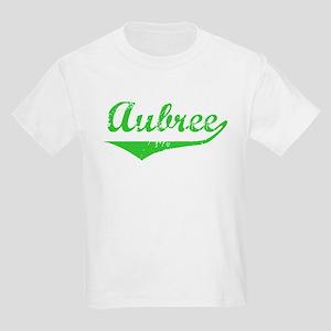 Aubree Vintage (Green) Kids Light T-Shirt