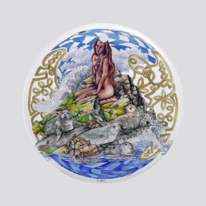 Selkies Ornament (Round)