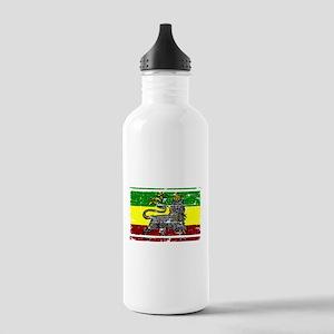 Rastafari Flag Stainless Water Bottle 1.0L