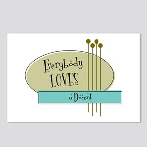 Everybody Loves a Docent Postcards (Package of 8)