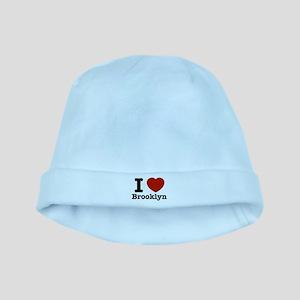 i love brooklyn baby hat