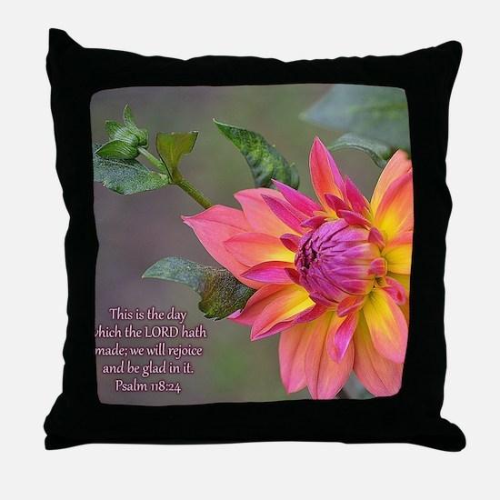 Cool Psalm Throw Pillow