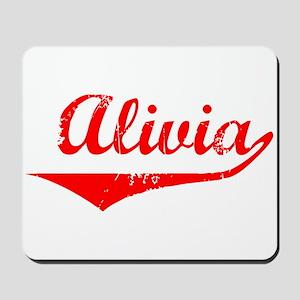 Alivia Vintage (Red) Mousepad