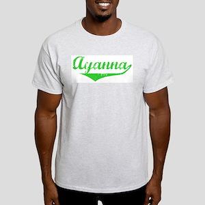 Ayanna Vintage (Green) Light T-Shirt