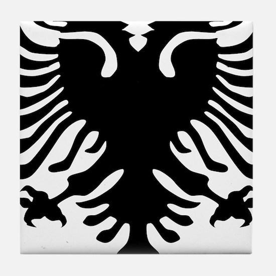 albanian_eagle.png Tile Coaster