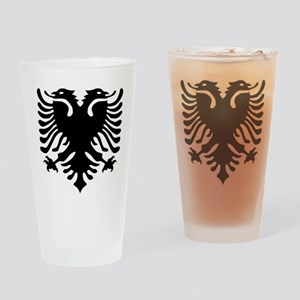 albanian_eagle Drinking Glass