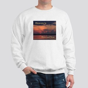 Heaven Here and Now - Square Sweatshirt