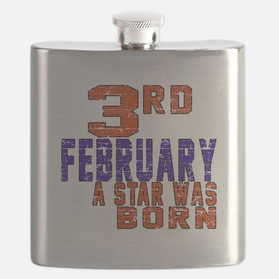 3 February A Star Was Born Flask