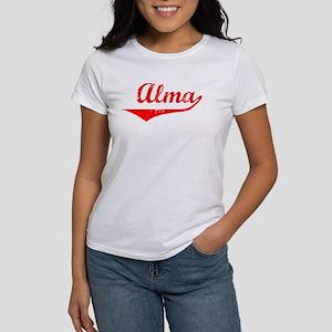 Alma Vintage (Red) Women's T-Shirt