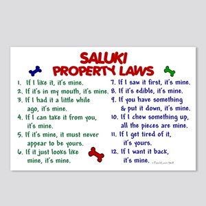 Saluki Property Laws 2 Postcards (Package of 8)