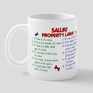 Saluki Property Laws 2 Mug