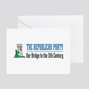 Bridge to 11th Century Greeting Cards (Package of