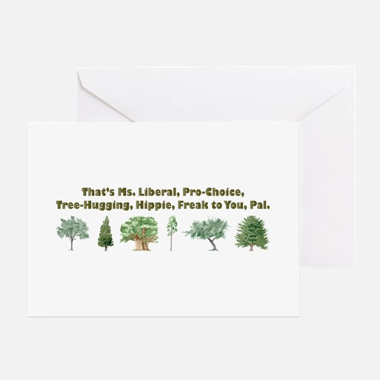 That's Ms. Liberal Greeting Cards