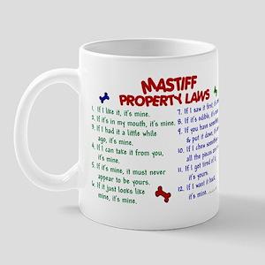 Mastiff Property Laws 2 Mug