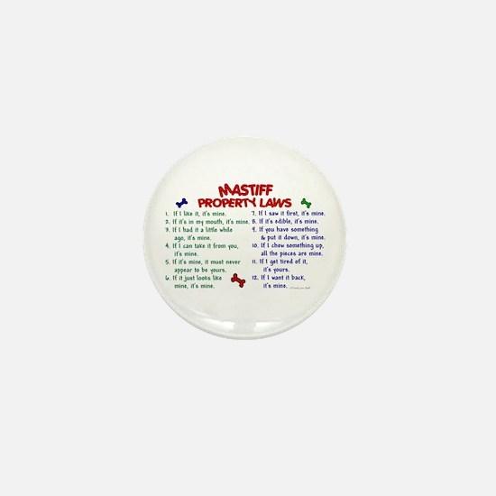 Mastiff Property Laws 2 Mini Button
