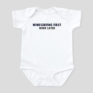 Windsurfing First Infant Bodysuit
