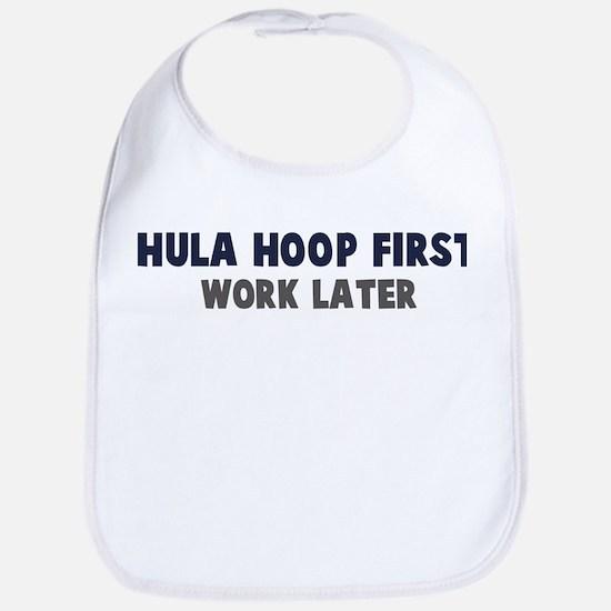 Hula Hoop First Bib