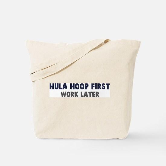 Hula Hoop First Tote Bag