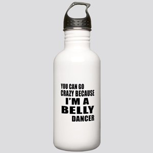 I Am Belly Dancer Stainless Water Bottle 1.0L