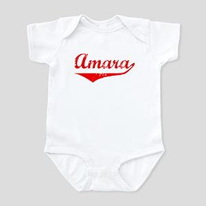 Amara Vintage (Red) Infant Bodysuit