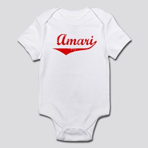 Amari Vintage (Red) Infant Bodysuit