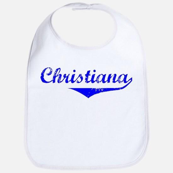 Christiana Vintage (Blue) Bib