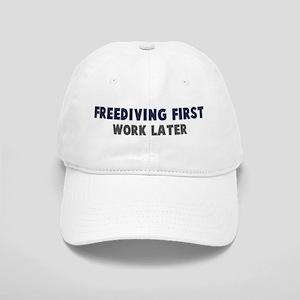 Freediving First Cap