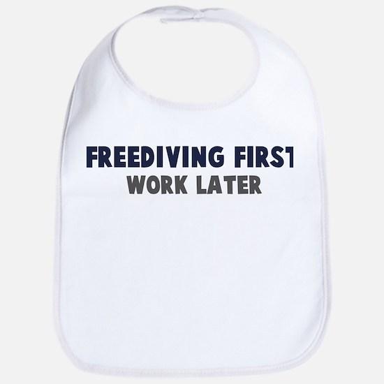 Freediving First Bib
