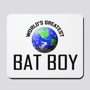 World's Greatest BAT BOY Mousepad