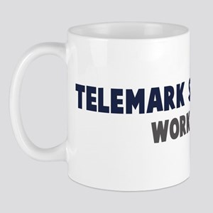 Telemark Skiing First Mug