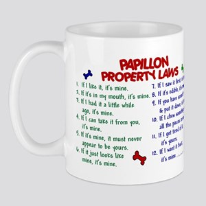 Papillon Property Laws 2 Mug