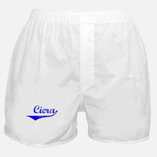 Ciera Vintage (Blue) Boxer Shorts