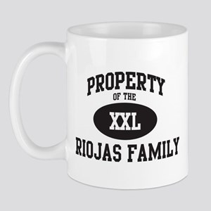 Property of Riojas Family Mug