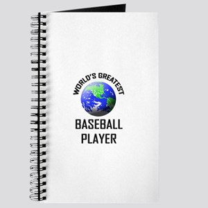 World's Greatest BASEBALL PLAYER Journal