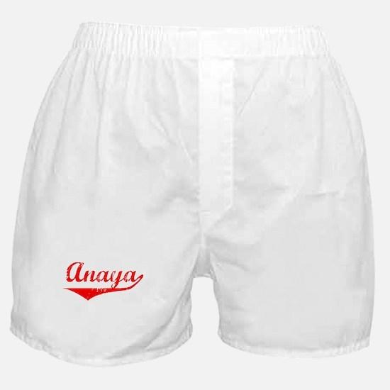 Anaya Vintage (Red) Boxer Shorts