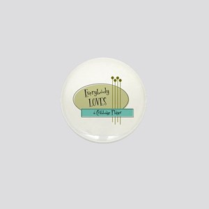 Everybody Loves a Cribbage Player Mini Button