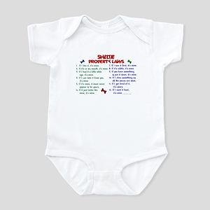 Sheltie Property Laws 2 Infant Bodysuit