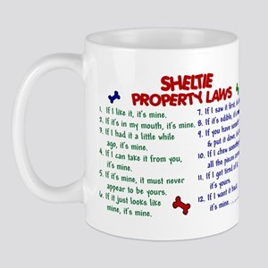 Sheltie Property Laws 2 Mug