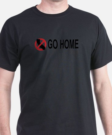 Californians, Go Home Light Tee T-Shirt