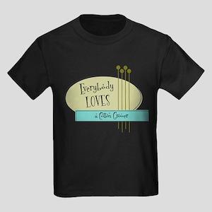 Everybody Loves a Cotton Grower Kids Dark T-Shirt