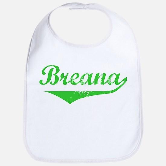 Breana Vintage (Green) Bib